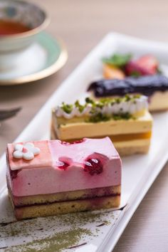 summery fruit dessert platter