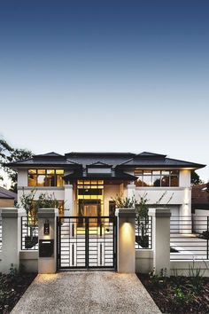 37 Stunning Contemporary House Exterior Design Ideas You Should Copy - Today, contemporary house plans are very intelligently designed to give utmost comfort to the people. These plans not only feature flexible floor spac.