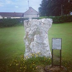 Standing stone, glencullen