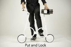 Impossible Technologies E-Bike Faltrad Klapprad