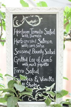 so easy! Chalkboard menus. Painting one  for my kitchen for weekly menu!! And you can use chalkboard markers or chalk!