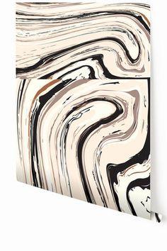 Wallpaper : Crystalline : Black