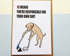 Image result for 18th birthday cards funny