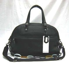 Marni Handbag Calf Leather 5063 Black