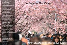 A Face In The Crowd Memorial Poem, Celebration Of Life, In Loving Memory, Funeral                                                                                                                                                                                 More