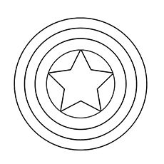 Superman symbol google search g man pinterest for Captain america shield coloring page