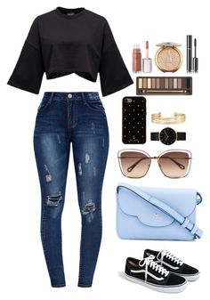 """Untitled #625"" by alibasicamina ❤ liked on Polyvore featuring J.Crew, Kate Spade, Chloé, CLUSE, Stella & Dot, Urban Decay and Chanel"