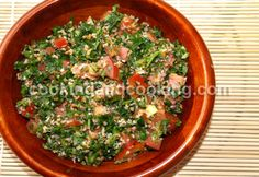 Tabouleh Recipe, Vegetarian Food | Cooking and Cooking