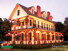 Dubignon Cottage - Jekyll Island, GA during the Holidays