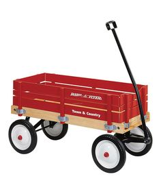 Look what I found on #zulily! Town & Country Wagon radio flyer wago