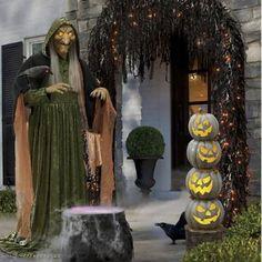 Halloween Garland, Halloween Magic, Theme Halloween, Halloween Items, Outdoor Halloween, Vintage Halloween, Happy Halloween, Halloween Decorations, Outdoor Decorations