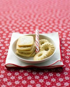 Christmas Cookie Recipes: Icebox Butter Cookies
