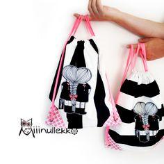 Miiinullekko: jumppaamaan Gym Bag, Bags, Fashion, Dressmaking, Handbags, Moda, Fashion Styles, Fashion Illustrations, Bag