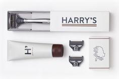| Harry's Winston shaving set, by Man of Many. |