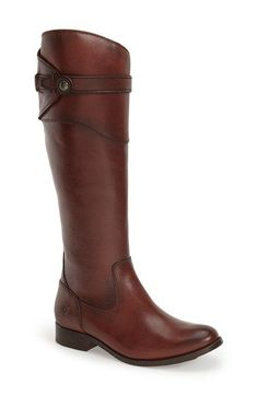 Drool - Free shipping and returns on Frye 'Molly Button' Riding Boot (Women) at Nordstrom.com. Superior craftsmanship shines through on a pair of timeless leather riding boots shaped with a rounded toe and finished with a smartly buttoned strap.
