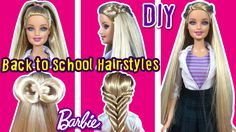 Barbie Hairstyles Simple How To Curl Barbie Hair With Pictures  Ehow  Barbie  Pinterest