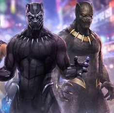 Black Panther & Golden Jaguar. WAKANDA FOREVER!!