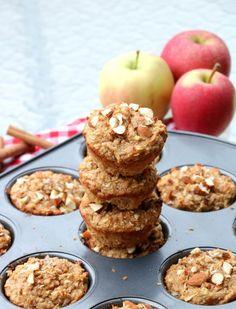 Proteinrike havremuffins med eple og kanel - LINDASTUHAUG