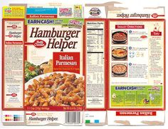 2000 General Mills Hamburger Helper Box by gregg_koenig, via Flickr