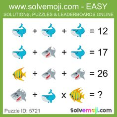 Solvemoji - Free teaching resources - Emoji math puzzle, great as a primary math starter, or to give your brain an emoji game workout. Mind Puzzles, Maths Puzzles, Maths Starters, English Posters, Emoji Games, Xmas Theme, Math Questions, Order Of Operations, Kitty Games