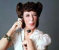 Lily Tomlin--1 ringy dingy (snort) 2 ringy dingy (snort) Have I reached the party to whom I am speaking?
