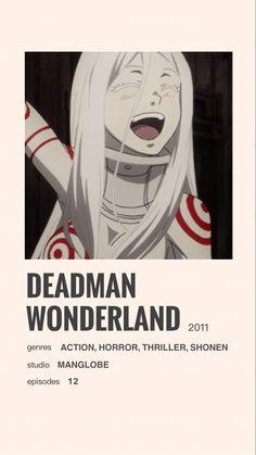 """Deadman Wonderland"" anime poster by Lala"