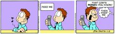 Garfield & Friends | The Garfield Daily Comic Strip for November 02nd, 2006