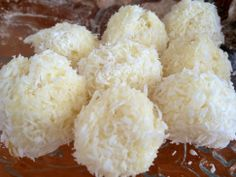 Kokosové koule - Coconut balls