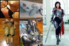 Fiora - Worbla armor process by *yayacosplay on deviantART