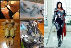 Fiora - Worbla armor process by *yayacosplay on deviantART