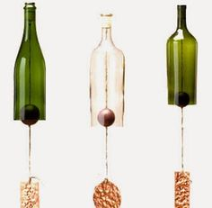. . . . . How to Recycle: Recycled Wind Chimes