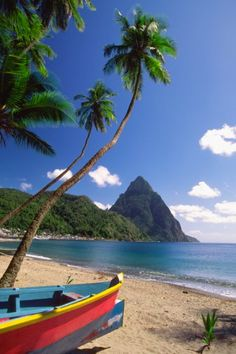 st. lucia in Caribbean Sea. | Stunning Places #Places