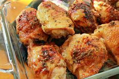 Sticky Lemon- Oregano Chicken