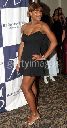 Tennis player Serena Williams attends...