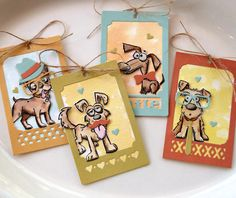 You're Going To Go Crazy Over These Adorable Tags! / Sizzix Blog - The Start of Something You