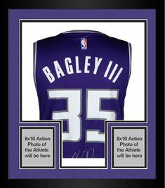 5417d885 Framed Marvin Bagley Sacramento Kings Signed Fanatics Purple Fastbreak  Jersey #sportsmemorabilia #autograph #basketballjersey