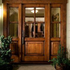 barnizar puerta de entrada de madera