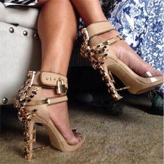 3264eaba639a8d Luxury Brand Rhinestone Lock Diamonds Women Sandals Crystal High Heels  Gladiator Sandals Women Shoes Woman  font  b Sandalias  b   font  Botas  Mujer