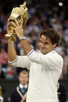 I wonder why sports journalists are obsessed with debating over the greatest athletes within a sport and across sports in our era as well as ever - all the bloody time. It makes for a fun debate but it also gets old. That being said, Roger has to be up there as one of the greatest of the greats. Besides, with the confidence he'll get from his Wimbledon, he could go on another dominating tear for the rest of the year - one I would be more than happy to see!