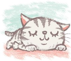 American Shorthair that is napping American Shorthair that is napping Kitten Drawing, Cute Cat Drawing, Cute Drawings, Cute Cats, I Love Cats, American Shorthair Cat, Image Chat, Cat Pose, Cat Colors