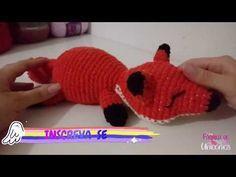 RAPOSA DE CROCHÊ PASSO A PASSO | VÍDEO AULA DE CROCHÊ | AMIGURUMI - YouTube Woodland Animals, Dinosaur Stuffed Animal, Crochet Hats, Youtube, Crocheted Toys, Fox, Cute, Tejidos, Forest Animals