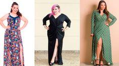 Vestido longo com fendas - Como usar e quais são os melhores modelos para as plus sizes?