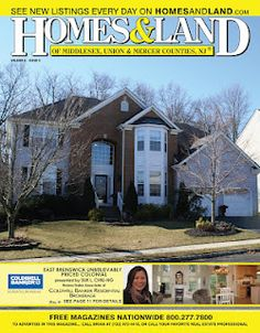 Our front Cover home for Volume 6 Issue 8 is presented by Suk L. Chiu-Ng of Coldwell Banker Residential Brokerage located in East Brunswick.