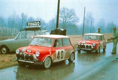 San Remo 1968 - Aaltonen Rauno - Liddon Henry icon BMC Mini Cooper S