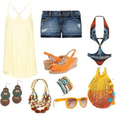 Hot Summer, created by zoltan-l on Polyvore