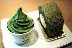 O'sulloc Green Tea Ice Cream & Cake
