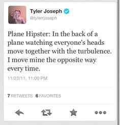 Tyler Joseph of Twenty One Pilots