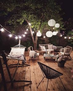 Awesome Deck Lighting Ideas To Lighten Up Your Deck – Outdoor Christmas Lights House Decorations Backyard Patio, Backyard Landscaping, Backyard Ideas, Pergola Ideas, Cozy Patio, Diy Pergola, Pergola Kits, Back Yard Patio Ideas, Garden Ideas