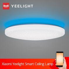 Xiaomi yeelight jiaoyue 480 led ceiling light 200 220v starry xiaomi yeelight jiaoyue 480 led ceiling light 200 220v starry lampshade aloadofball Choice Image