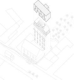 """""""Leon"""", Extension of an apartment building, Paris, France - by Septembre"""